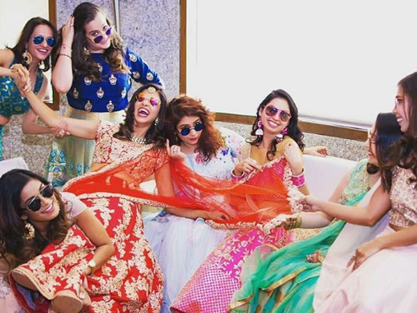 Pictures: Kishwer Merchantt's friends make up for the coolest bridesmaid team ever!