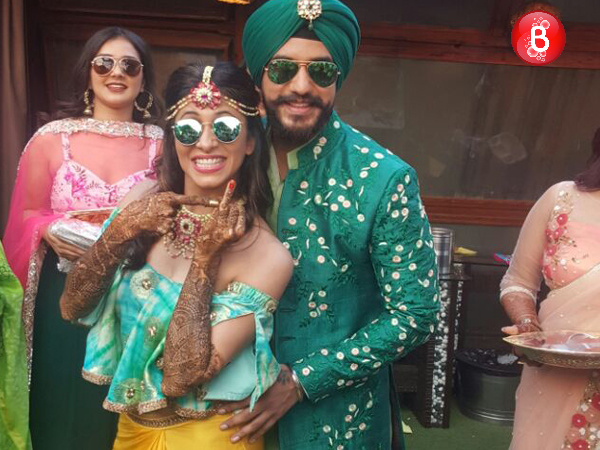 Check out the inside pictures from Kishwer Merchantt's mehndi ceremony