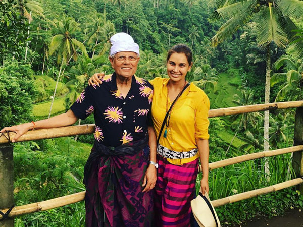 Vacation goals with Lisa Ray as she embarks on a beautiful trip to Bali, Indonesia. See Pictures!