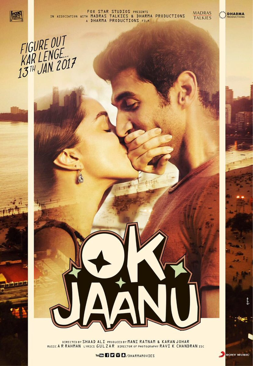Shraddha Kapoor and Aditya Roy Kapur in OK Jaanu