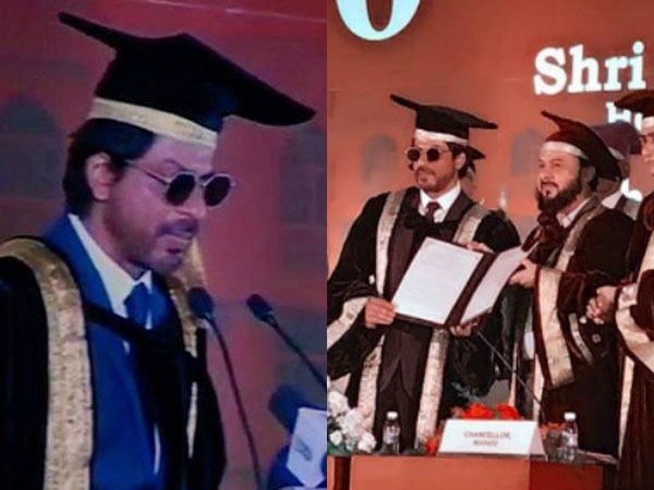 Shah Rukh Khan's statements in his speech after getting a doctorate will give you some life lessons