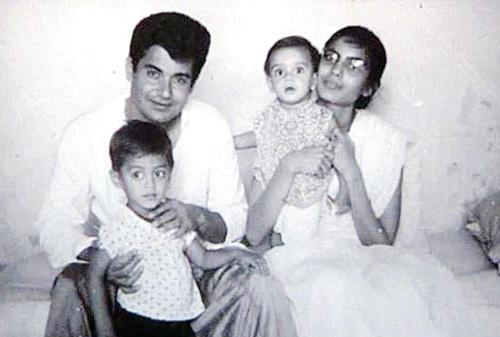 Salim Khan's young days as an actor and his first marriage