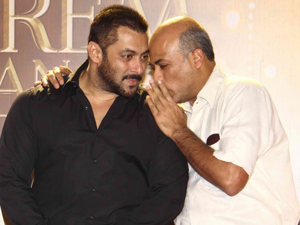 There is something in pipeline with Salman Khan, confirms Sooraj Barjatya