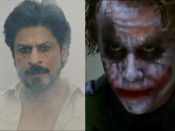 When Joker from 'The Dark Knight' turned Shah Rukh Khan from 'Raees', result is entertainment