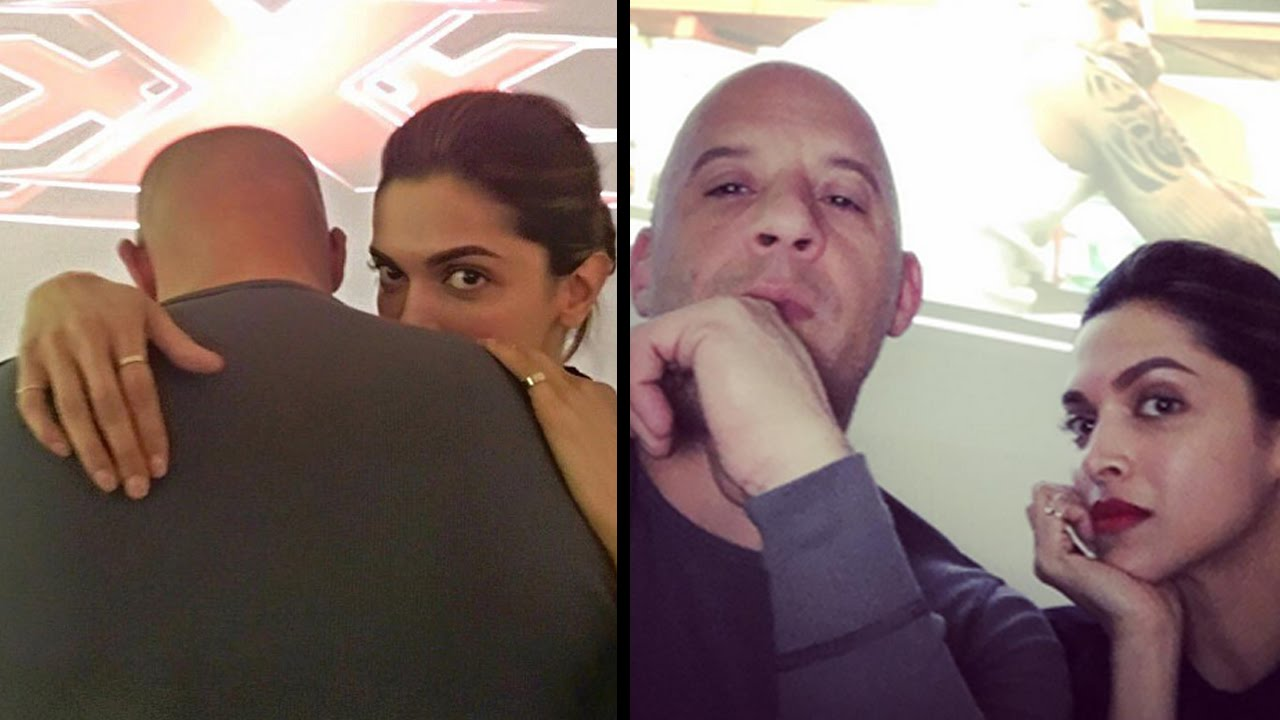 The tease alert by Deepika Padukone and Vin Diesel