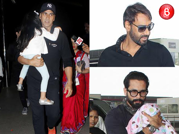 Bollywood actors who have headed for a family vacation! View Pics