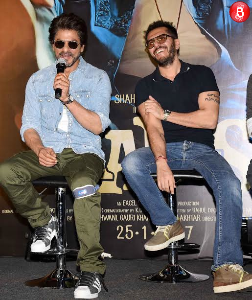 Shah Rukh Khan and Ritesh Sidhwani