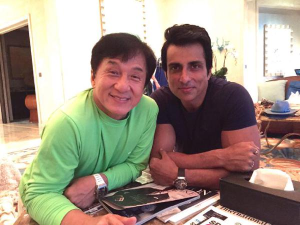 Whoa! Jackie Chan finds Bollywood dance