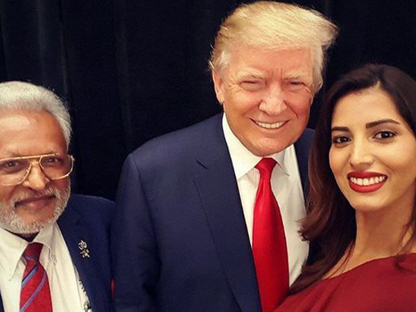 Manasvi Mamgai at Donald Trump's Inauguration Day concert, shares pictures with the president