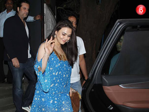 Preity Zinta celebrates her birthday with B-Town friends, sans hubby Gene Goodenough