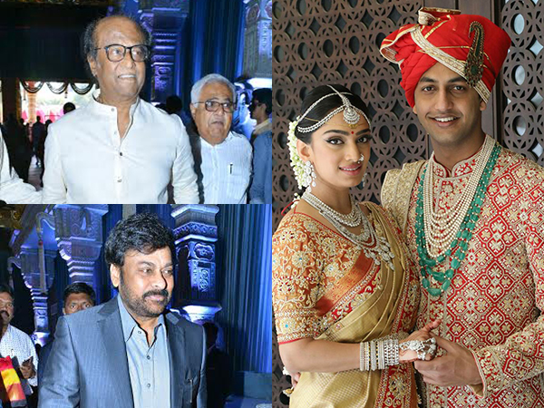 Amitabh Bachchan, Rajinikanth and other celebs grace T Subbarami Reddy's grandson's wedding