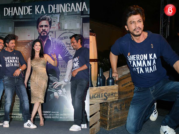 PICS: Shah Rukh Khan, Nawazuddin Siddiqui and team celebrate success party for 'Raees'