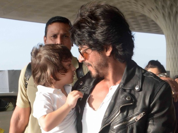 PICS: Shah Rukh Khan builds a tree house for AbRam and it's just wonderful!