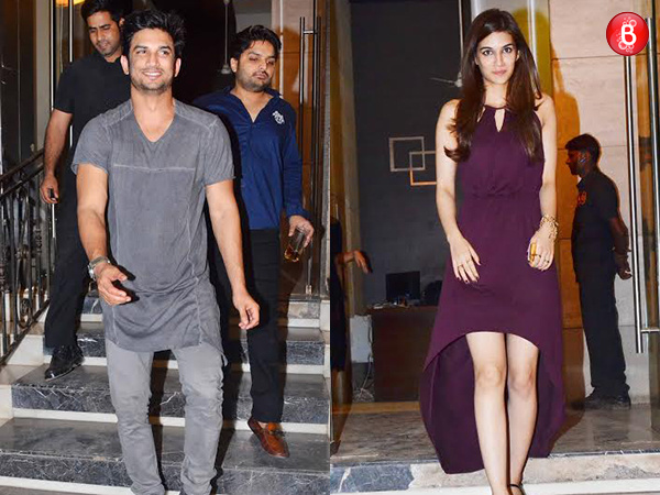 PICS: Sushant Singh Rajput celebrates his birthday with Kriti Sanon and close B-Town friends