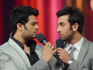 ranbir kapoor and manish paul
