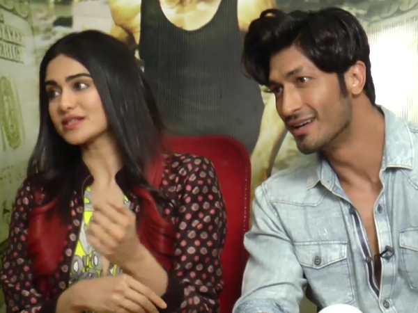 Watch: Adah Sharma is all praise for her 'Commando 2' co-star Vidyut Jammwal