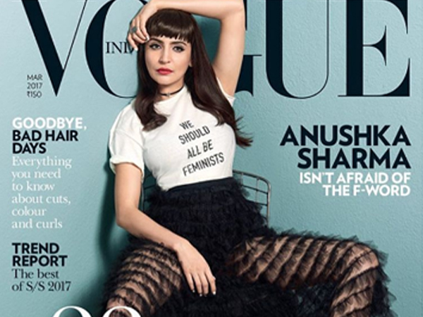 'We Should All Be Feminists', says Anushka Sharma on the cover photo of Vogue