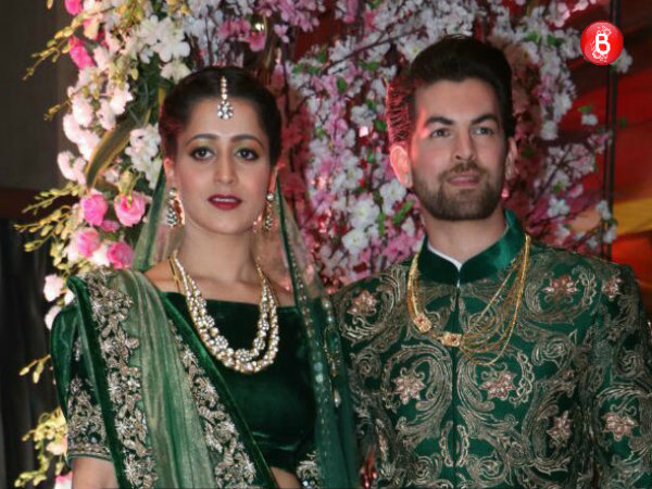 Exclusive Inside Pics: Celebs attend Neil Nitin Mukesh and Rukmini Sahay's reception