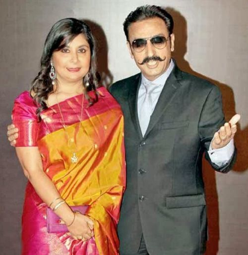 Gulshan Grover and ex-wife Kashish