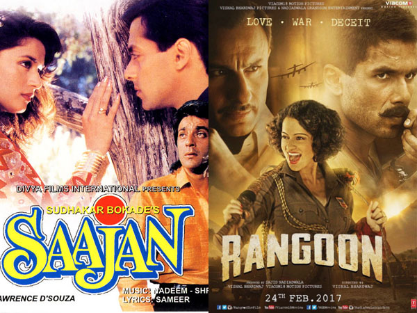 Here's the list Bollywood films with greatest love triangles