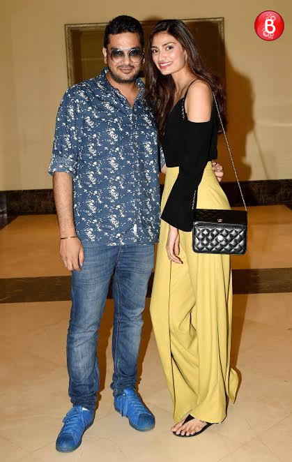 Athiya Shetty and Mukesh Chhabra