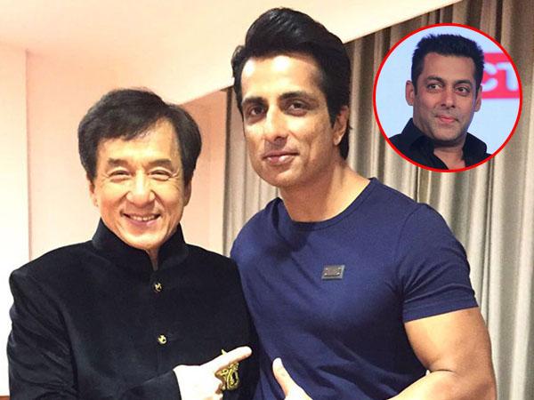 'Hindi-Chini bhai bhai': Salman Khan, Jackie Chan and Sonu Sood mouth the famous saying