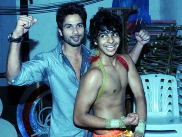 Shahid Kapoor is the happiest for brother Ishaan Khatter's debut film