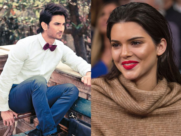 Say what! Sushant Singh Rajput gets clicked with Kendall Jenner for a royal photoshoot