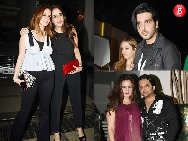 PICS: Sussanne Khan, Zayed Khan and family celebrate Simone Arora's birthday in style