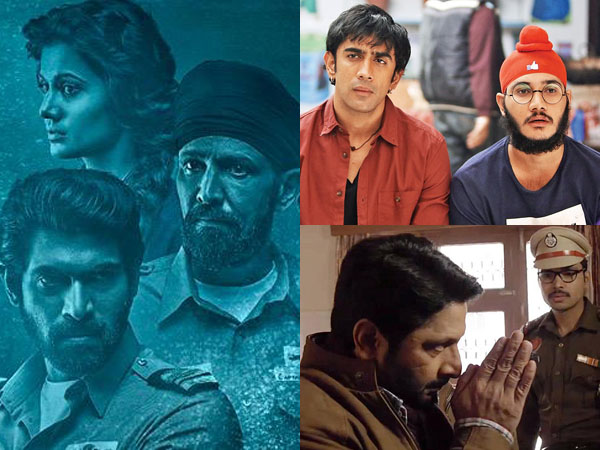 'The Ghazi Attack' grows over the weekend, 'Running Shaadi' and 'Irada' are disappointing
