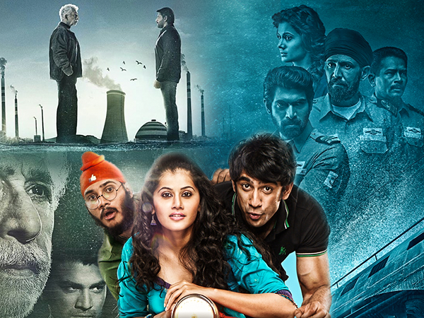 'The Ghazi Attack' takes the lead at the box office, 'Running Shaadi' and 'Irada' go slow