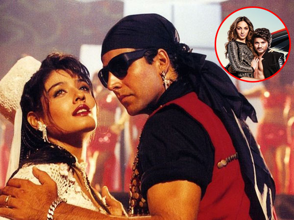 Now the recreated version of 'Tu Cheez Badi Hai Mast Mast' in 'Machine'