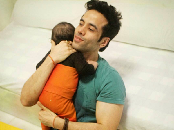 Aww! This video of Tusshar Kapoor's son Laksshya is melting our hearts