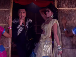 The track 'UP Ki Don' from 'Aa Gaya Hero' featuring Govinda and Poonam Pandey out