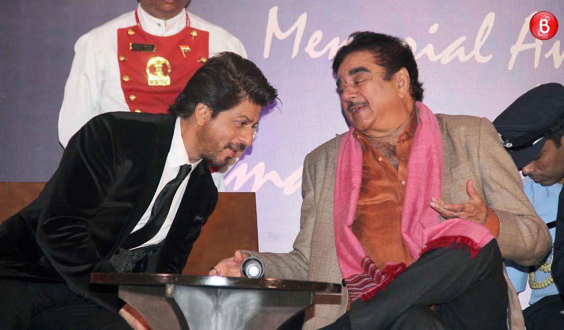 Shah Rukh Khan and Shatrughan Sinha