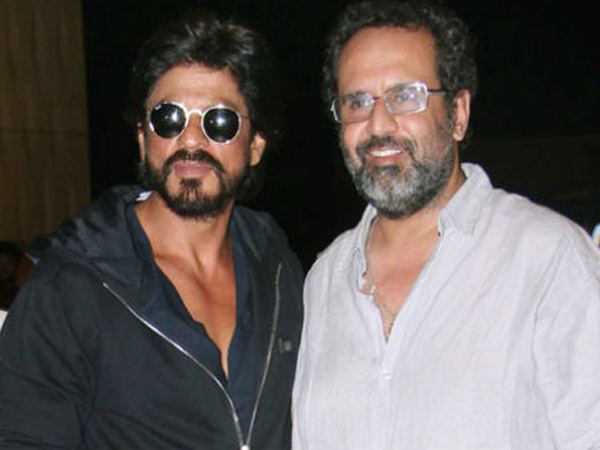 Spotted: Shah Rukh Khan and Aanand L. Rai discussing their upcoming movie