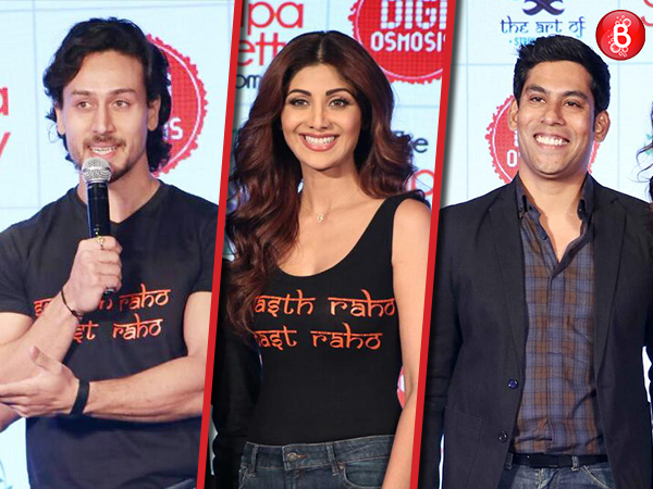 PICS: Shilpa Shetty Kundra launches her wellness website, Tiger Shroff arrives as a guest
