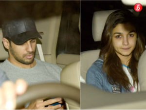 Watch: Rumoured lovers Sidharth Malhotra and Alia Bhatt celebrated Valentine's Day together