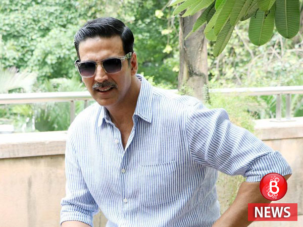 Akshay Kumar gives a very important advice to girls while promoting 'Naam Shabana'