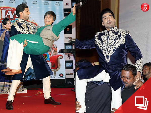 PICS: Gurmeet Choudhary and Vivaan Shah bring the house down at the music launch of 'LKSMLD'