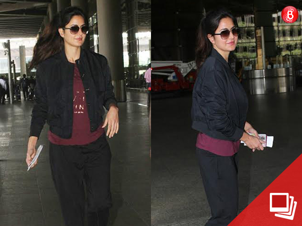 PICS: Katrina Kaif returns from the shoot in Austria without 'Tiger' Salman Khan