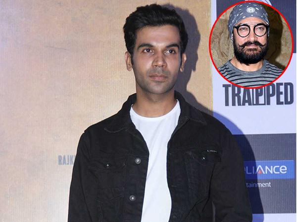 Raj Kummar Rao: I want to get 'trapped' with Aamir Khan