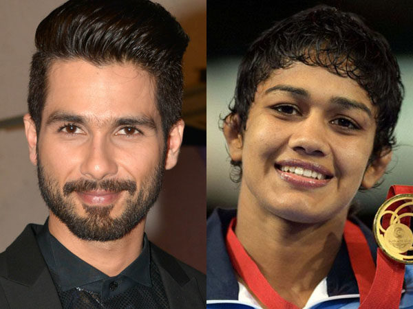 Shahid Kapoor wanted to star in 'Dangal', and Babita Phogat has offered him the sequel
