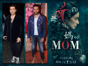 B-Town celebs praise the first look of Sridevi's film 'Mom'