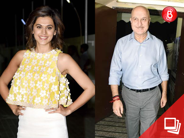 Check: Bollywood celebrities attend the special screening of Taapsee Pannu's 'Naam Shabana'