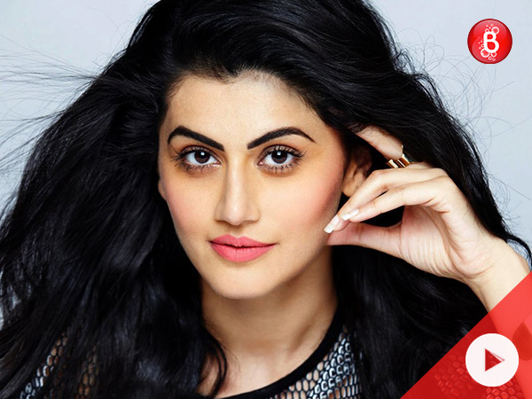 Watch: Taapsee Pannu has a fitting reply to the whole chaos about nepotism