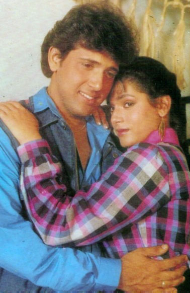 Govinda's dream to marry Neelam was left unfulfilled