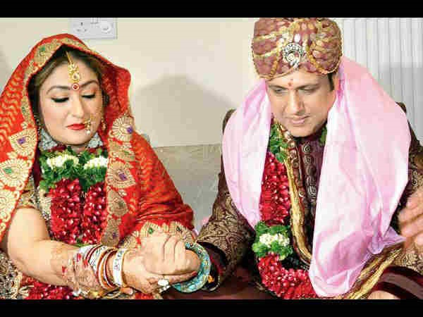 Govinda hid his marriage for a year from Neelam