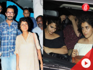 Watch: Aamir Khan and Kiran Rao's dinner outing with the 'Dangal' girls