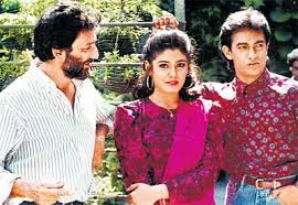 Aamir Khan and Raveena Tandon's romantic pairing